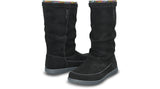 Crocs Adela Suede Boot Black Charcoal