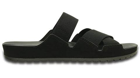 Crocs Anna Slide Black Graphite - Sole Central