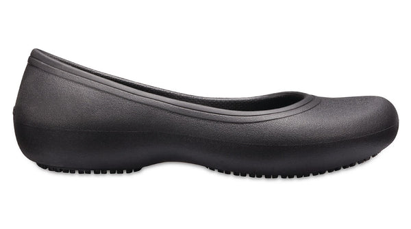 Crocs At Work Flat Black