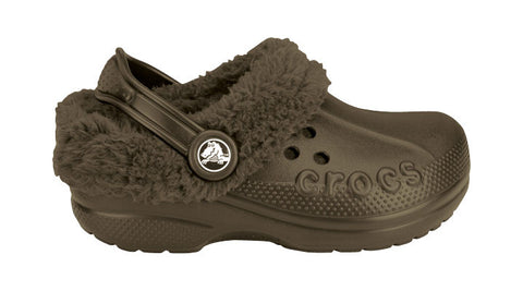 Crocs Kids Blitzen Chocolate - Sole Central