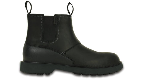 Crocs Breck Boot Black - Sole Central
