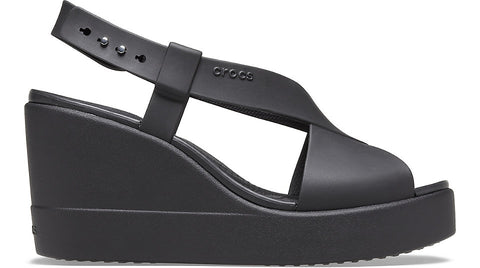 Crocs Brooklyn High Wedge Black