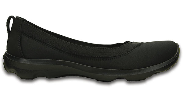 Crocs Busy Day Stretch Flat Black