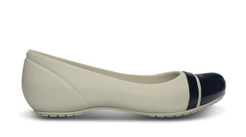 Crocs Cap Toe Flat Stucco - Sole Central