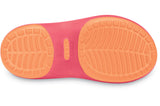 Crocs Carlie Flat Girls Hot Pink Cantaloupe