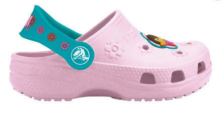 Crocs Kids Dora Bubble Gum Turquise