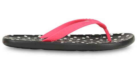Crocs Chawaii Graphic Flip Poppy Black