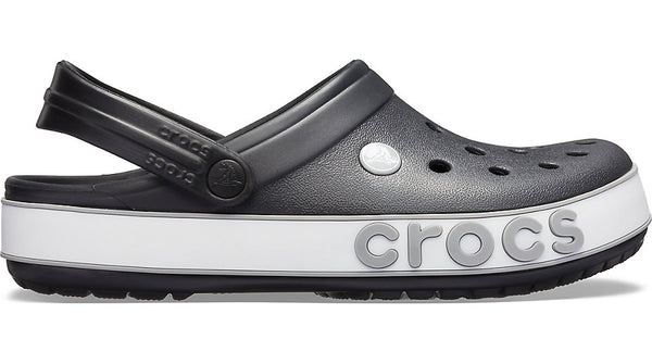 Crocs Crocband Logo Mania Clog Black Light Grey