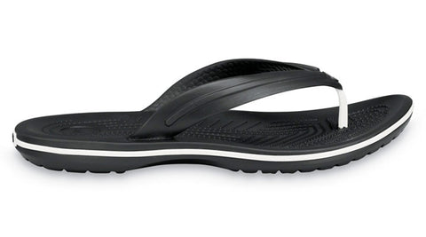 Crocs Crocband Flip Black - Sole Central