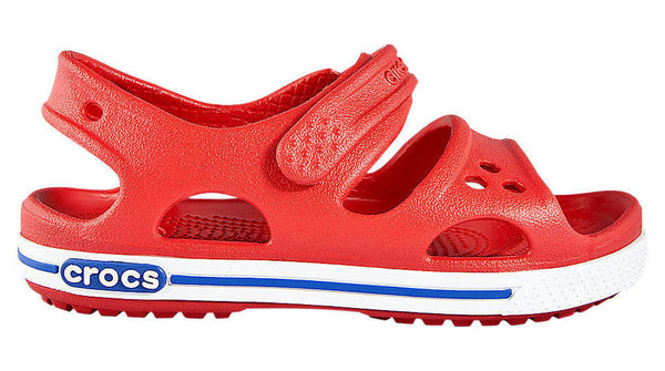 Crocs Kids Crocband II Sandal Red White