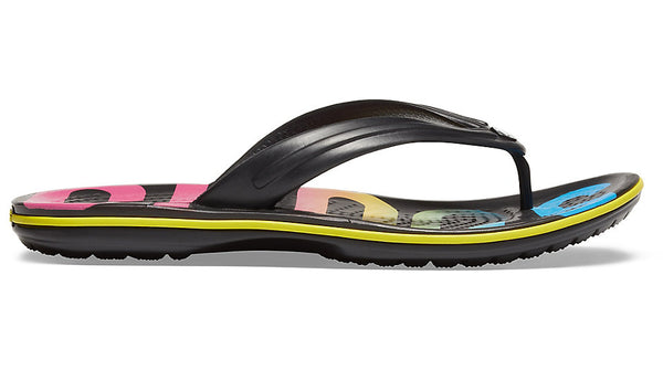 Crocs Crocband Printed Flip Black Multi