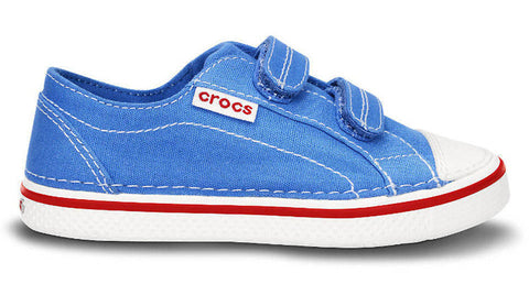 Crocs Kids Deco Easy on Canvas Sneaker Varsity Blue