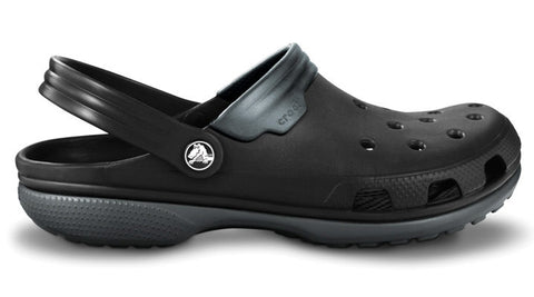 Crocs Duet Clog Black Graphite - Sole Central