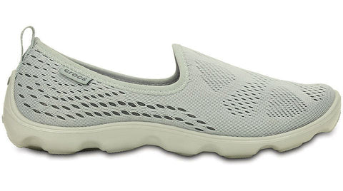 Crocs Duet Busy Day Xpress Mesh Skimmer Light Grey Graphite - Sole Central