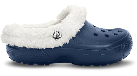 Crocs Kids Mammoth EVO Clog Navy Oatmeal