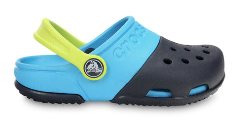 Crocs Kids Electro II Clog Navy Electric Blue