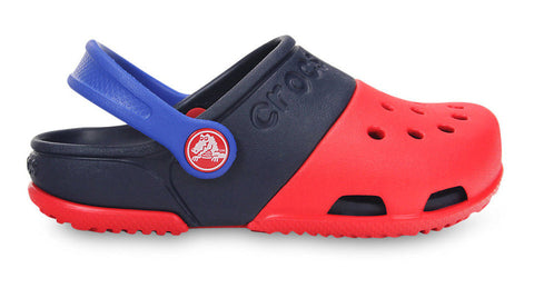 Crocs Kids Electro II Clog Red Navy