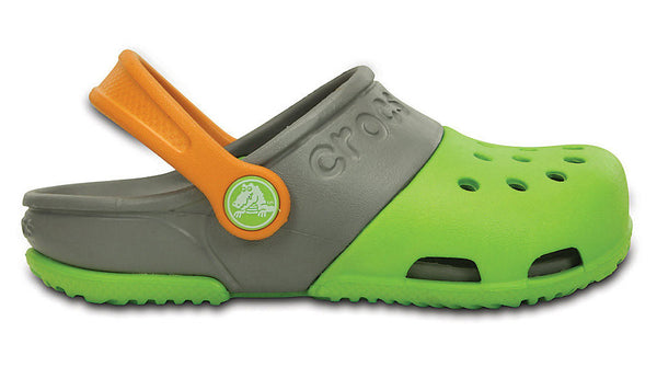 Crocs Kids Electro II Clog Volt Green Smoke