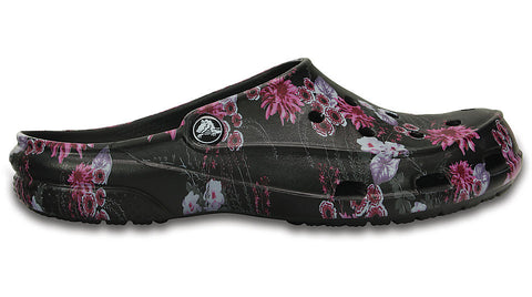 Crocs Freesail Clog Graphic Black Plum