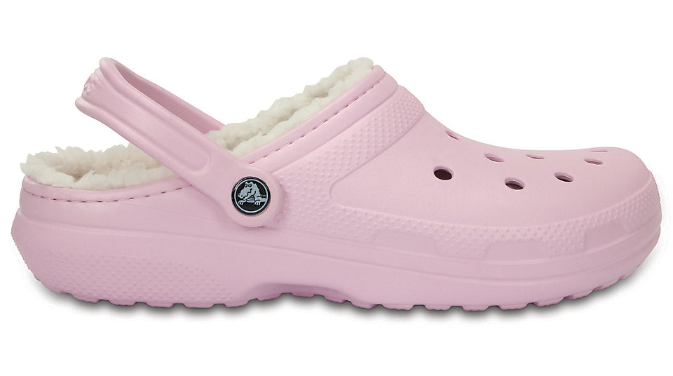 c1d6a5faebe9b Crocs Classic Lined Clog Fuzz Ballerina Pink Oatmeal – Sole Central