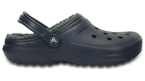 a9e438616 Classic Lined Clog Navy Charcoal
