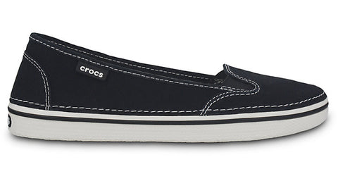 Crocs Hover Slip On Canvas Black - Sole Central