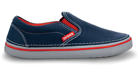 Crocs Kids Hover Sneak Slip On Navy