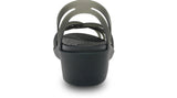 Crocs Huarache Mini Wedge Black