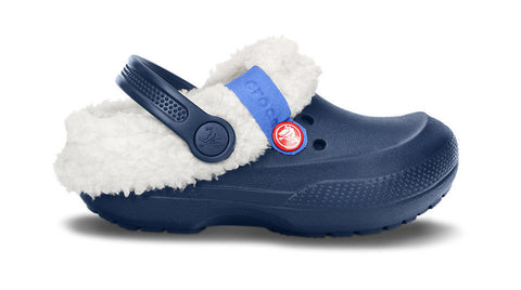 Crocs Kids Blitzen II Navy Oatmeal - Sole Central