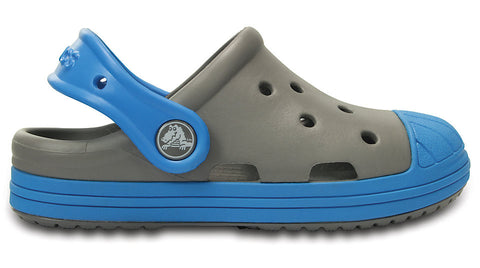 Crocs Kids Bump-It Clog Smoke Ocean