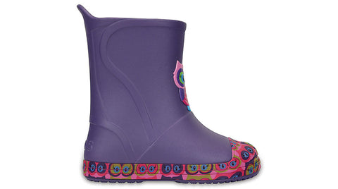 Crocs Kids BumpIT Graphic Boot Blue Violet-Boots