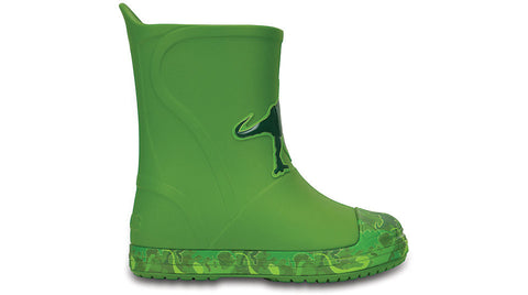 Crocs Kids BumpIT Graphic Boot Green
