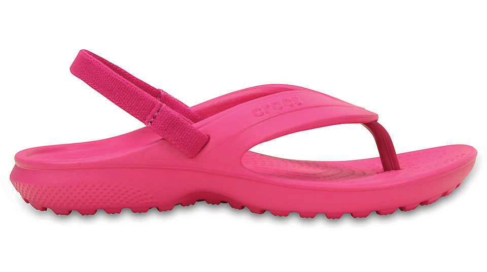 7cce191b411e5 Crocs Kids Classic Flip Candy Pink – Sole Central