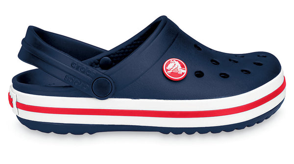 Crocs Kids Crocband Clog Navy Red