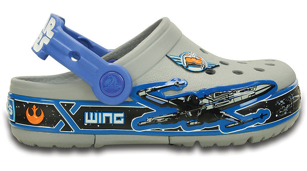 Crocs Kids CrosLights Star Wars X-Wing Clog