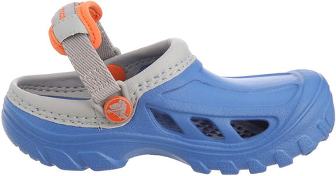 Crocs Kids Crostrail Sea Blue Light Grey-Clogs