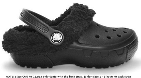 Crocs Kids Mammoth EVO Clog Black-Clogs