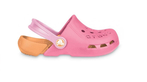 Crocs Kids Electro Hot Pink Cantaloupe
