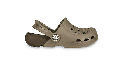Crocs Kids Electro Khaki Chocolate