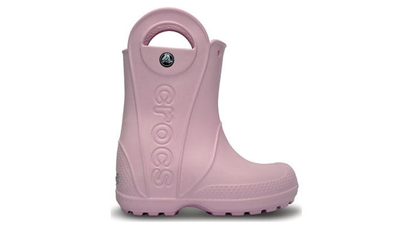 Crocs Kids Handle It Rain Boot Bubblegum