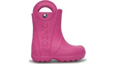 Crocs Kids Handle It Rain Boot Fuchsia