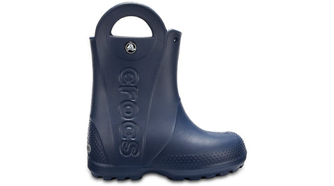 Crocs Kids Handle It Rain Boot Navy