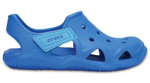 Crocs Kids Swiftwater Wave Ocean-Sandals