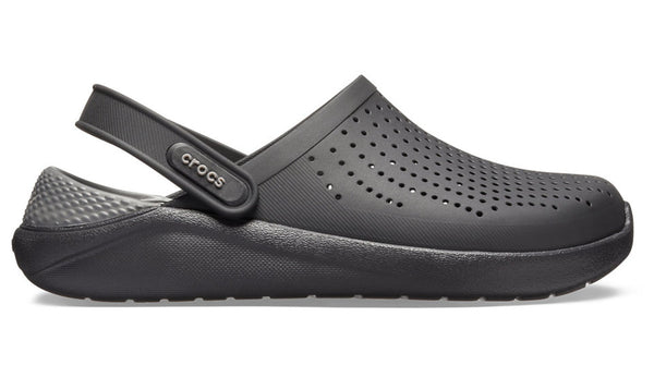 Crocs LiteRide Clog Black Slate Grey-Sandals