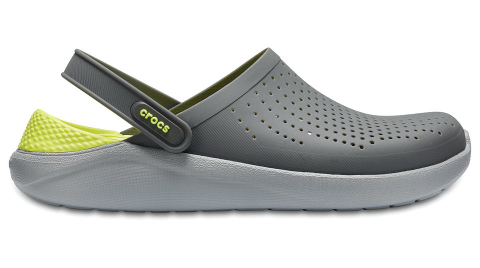 d7c05db04a Details about Crocs LiteRide Clog Slate Grey Light Grey