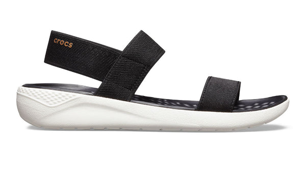 Crocs LiteRide Sandal Black White