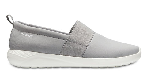 Crocs LiteRide Slip-On Light Grey White-Sandals