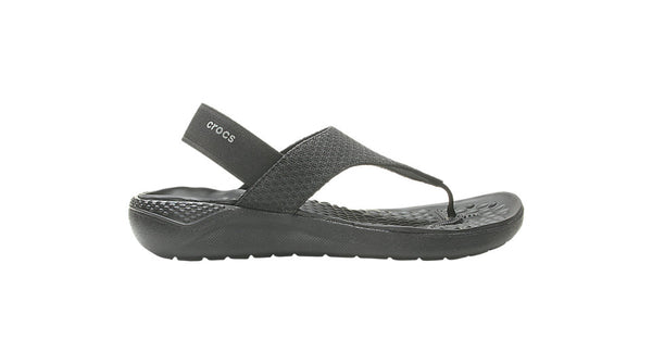 Crocs LiteRide Mesh Flip Black-Thongs