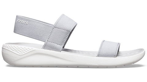 Crocs LiteRide Sandal Light Grey White-Sandals