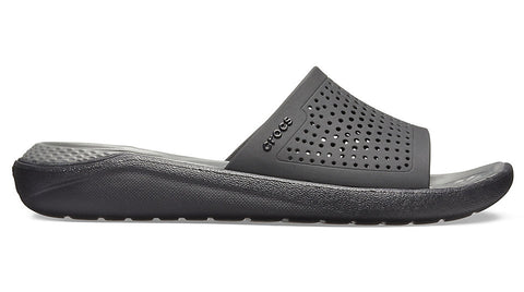 Crocs Literide Slide Black Slate Grey-Sandals